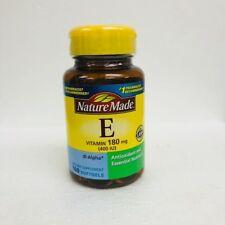 Nature Made Vitamin E, 400 IU, Softgels, 100ct 031604011604S631