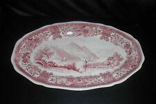 Villeroy & Boch Burgenland rot: Fleischplatte / Platte, ca 34 x 22 cm - wie neu