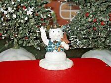 Hawthorne Village Sam the Snowman Rudolph Red Nosed Reindeer Figure Xmas 79056