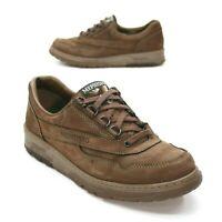 MEPHISTO Ladies 9 Runoff Air Bag System Brown Nubuck Leather Walking Oxfords