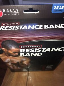 Resistance band, BALLY Total Fitness, 25 Pound Resistance, New In Box!