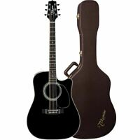 Takamine Ef341sc Left Handed Acoustic Guitar In Gloss
