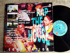 Rap The House Compilation Tony Scott, Black Box, Jam Jam, Sbam, Level 2...  - LP