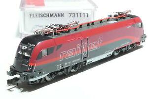 Fleischmann N ÖBB 1116 208-8 RailJet rot grau 731111 NEU OVP