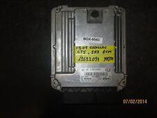 08 09 CADILLAC CTS,SRX ECM #12622093 YRJA *See item description*