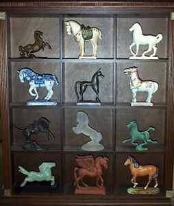 Franklin Mint 3000 Years of Horses Collection of 12 Circa 1981