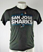 San Jose Sharks adidas Men's Charcoal Gray T-Shirt NHL M L XL 2XL