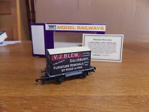 DAPOL GWR CONFLAT WAGON No 39050 c/w Container V. J. BLEW SALISBURY Limited Edn