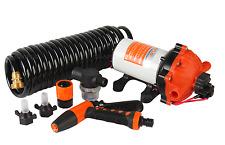 24V Washdown 70 PSI Spray Pump Kit 5.0 GPM Boat Marine RV Replace Jabsco Shurflo