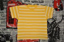 Jako-O T-Shirt Gr.116/122 Gelb/Weiß gestreift Neuwertig