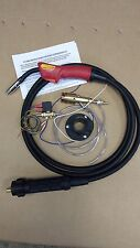 MIG EURO TORCH CONVERSION KIT INCLUDING MB15 4MTR TORCH AND GAS SOLENOID