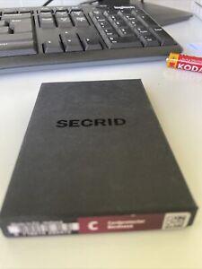 secrid Card protector / Wallet Bordeaux