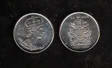 CANADA 2002P QEII SILVER JUBILEE, DOUBLE-DATE HALF DOLLAR, IN MINT COND.