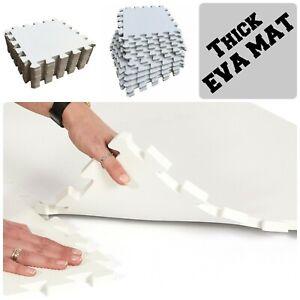 Extra Thick Interlocking Floor Mats Gym Flooring Soft Eva Foam Mat Yoga Tiles