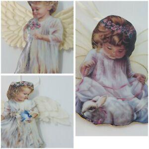 """Heavens Little Angels"" Hanging Decoration Ceramic gentle guardian Angel"