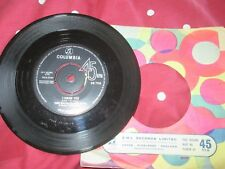 """Dave Clark Five The. Glad All Over Columbia Records DB 715 UK Vinyl 7"""" Single 45"""