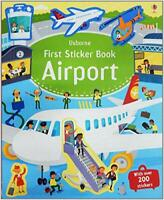 First Sticker Book Airports (First Sticker Books) by Sam Smith, NEW Book, FREE &
