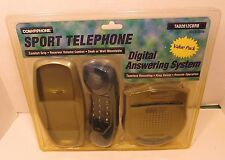 CONAIR PHONE Home DIGITAL ANSWERING MACHINE COMBO Blue NEW SPORT TELEPHONE Aid
