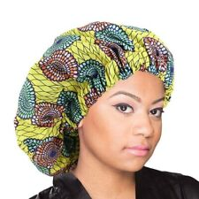 Extra large Satin Lined Bonnets women African pattern Night Sleep Hat Sales