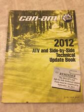 2012 BRP Can-Am ATV & Side By Side Technical Update Book 219100553 Manual