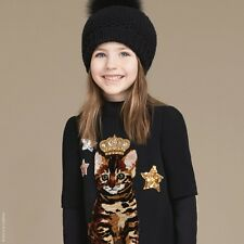 Dolce y Gabbana Bebé Niñas Vestido De Gato Zambia 4 años