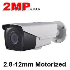HD-TVI OEM HIkvision LTS Turbo 2MP 1080P 2.8mm-12mm Motorized EXIR Bullet Camera