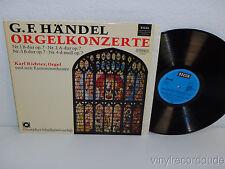KARL RICHTER G.F. Handel Organ Concert Orgelkonzerte LP Decca SDB 761 Stereo NM