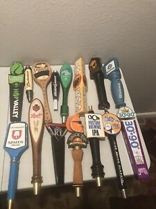 Lot Of 15 Beer Tab Pulls Different Kinds