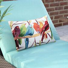 Brayden Studio Thornaby Flocked Together Birds Indoor/Outdoor Lumbar Pillow