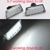 For Vauxhall Opel Astra Mk5 H 2x Clear lens LED Side Repeaters Indicators turn