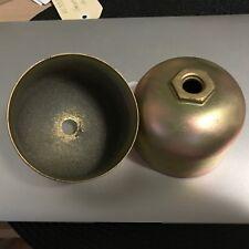 2 ONLY (A2239B A1-3A02-1) STEEL FUEL BOWLS - CESSNA PIPER BEECH - GOOD COND(B27)