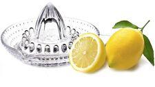 GLASS ORANGE & LEMON SQUEEZER CITRUS FRUIT JUICER