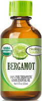Organic Bergamot Essential Oil (100% Pure - USDA Certified Organic)
