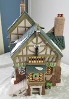 Dept 56 Dickens Village THE PIED BULL INN 2nd EDITION 1993 - IN ORIGINAL BOX