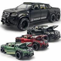 X-Class 6x6 Pickup Truck 1:28 Die Cast Modellauto Auto Spielzeug Model Sammlung