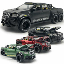X-Class 6x6 Pickup Truck 1:28 Model Car Diecast Gift Toy Vehicle Kids Collection