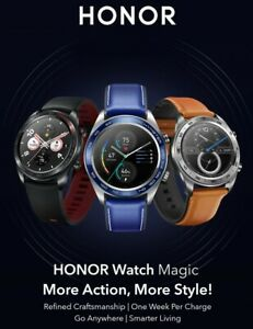 Premium Huawei Honor HD AMOLED Waterproof GPS Compass Heart Rate +++ Smart Watch