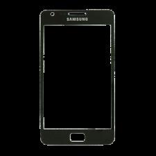 Pantalla Cristal NEGRA  Samsung Galaxy S2 I9100  SOLO CRISTAL RECAMBIO