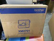 Brother XM2701 Lightweight, Full-Featured Sewing Machine with 27 Stitches NEW!