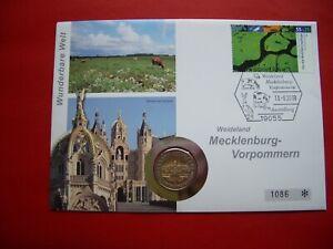 Germany 2007 Numismatic Mecklenburg-Western