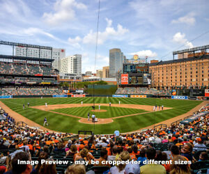 Baltimore Orioles Camden Yards Park MLB Baseball Stadium Photo 48x36-8x10 1520