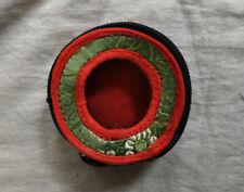 "TG1 Silk Brocade 6.5 cm Tingsha cover box cymbal bell 2.5"" case bag Tibet Nepal"