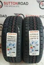 2 x 185 60 12 MAXXIS CR966 185/60R12C 104/101N TRAILER TYRE ( FREE FITTING )
