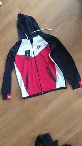 Nike Damen Trainingsanzug mit Kapuze New Young Hoody Jogginganzug Sportanzug 2