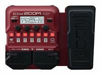 Zoom B1X Four Multi Effect Processor Stomp Pedal for Bass  FREE SHIPPING