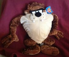 "Taz Tasmanian Devil Nanco Looney Tunes 14"" Doll Plush Stuffed Animal w/tags"