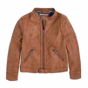 PEPE JEANS Boy Charles Jr Jacket PB400548 Brown Size 16/176 VR109 05