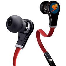 Anime Fairy Tail In-ear Earphone Stereo Headphone Earbuds Mic Headset for Phone