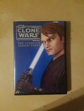Star Wars: The Clone Wars - The Complete Season Three (DVD, 2011, 4-Disc Set)