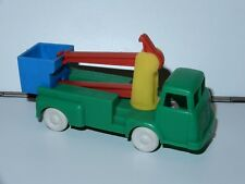 PLASTIC TOY CAR MODEL TOWER WAGON TRUCK 1960s W. GERMANY